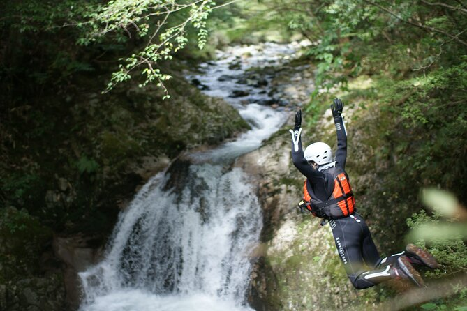 Exciting River Trekking Tour in Hiroshima's Countryside
