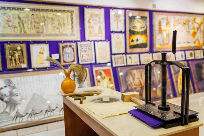 Private Educational Tour to Papyrus Workshop 2021 - Cairo