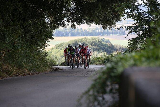 Adventure with racing bike between sea and hills of Lucca