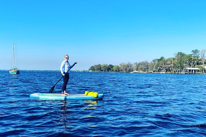 Small-Group Paddle Board Dolphin Tour St. Augustine