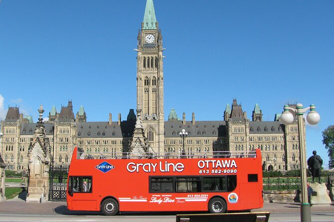 Ottawa Hop-On Hop-Off Sightseeing Tour