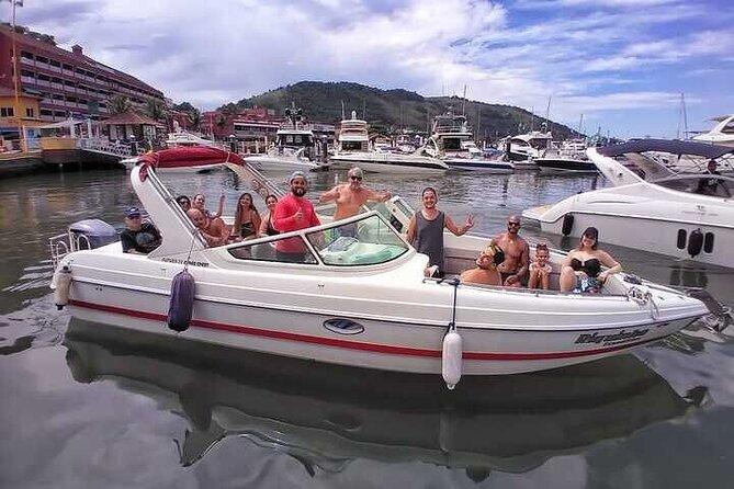 Angra & Ilha Grande Boat Tour: All Inclusive Full Day Private Tour