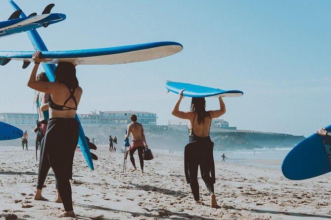 Surfing Lesson in La Mata Beach