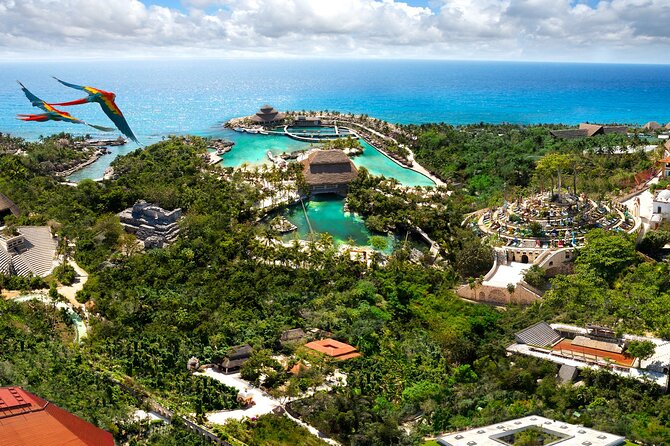 Tour nach Xcaret ab Cancun und Riviera Maya