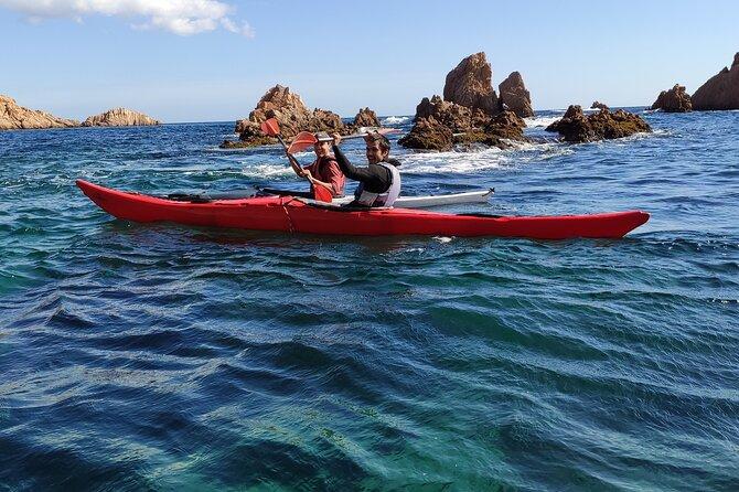 Morning Sea Kayak Excursion from Sant Feliu de Guíxols
