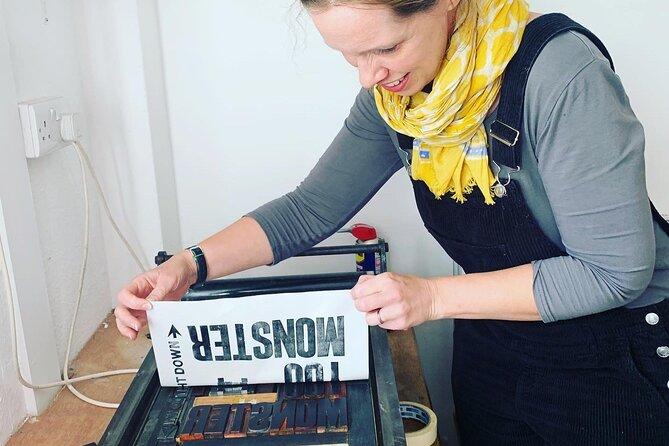 Letterpress Poster Printing Workshop