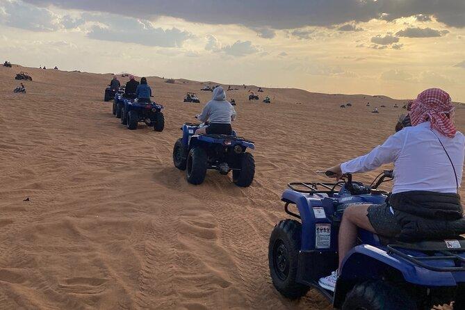 Morning Desert Safari with Quad biking