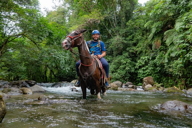 Arenal Horseback Riding to La Fortuna Waterfall