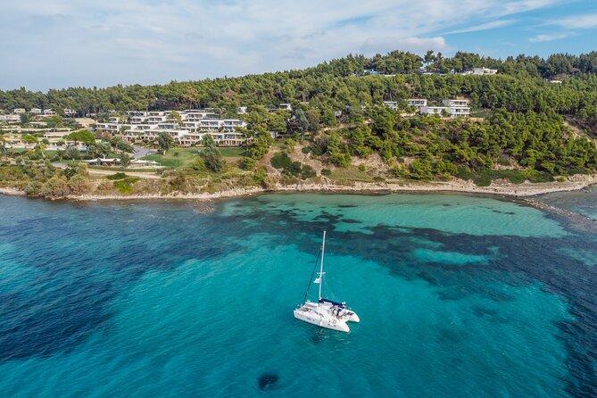 Sani Wind Catamaran Sailing