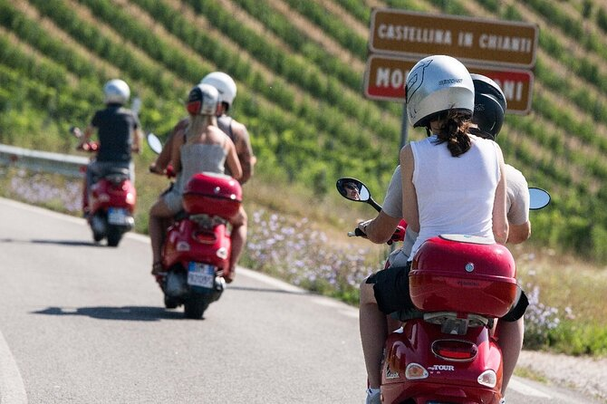 Tuscany Vespa Private Tour with Typical Lunch