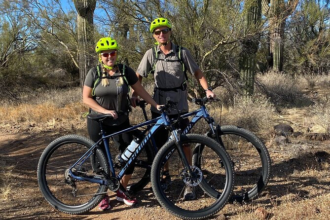 Couples Desert Mountain Bike Tour & Happy Hour!