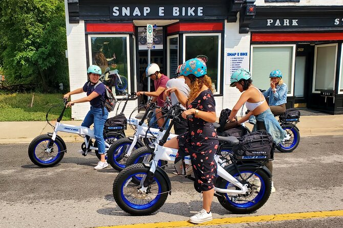 Niagara River Snap E Bike Guided Tour