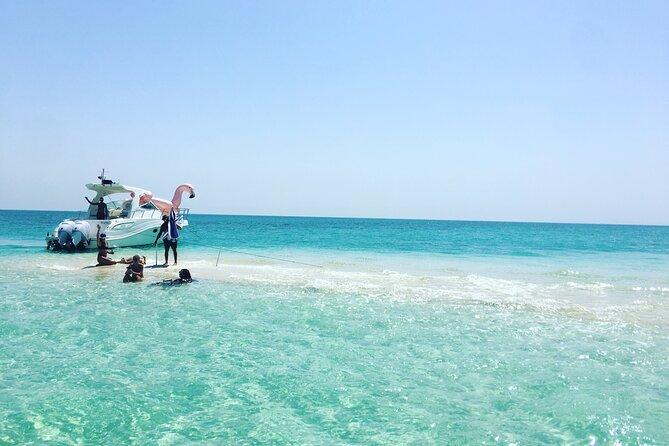 Ultimate Private Jarada Island Escape Tour from Muharraq