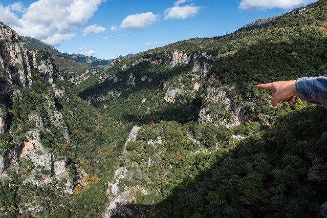 Hiking Menalon & Lousios gorge