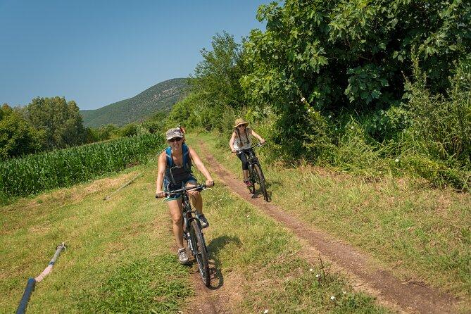 Cycling around Gialova Lagoon