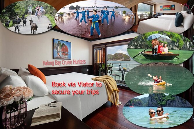 All-Inclusive 2 Day/1 Night Premium Cruise by Limousine Bus from Hanoi