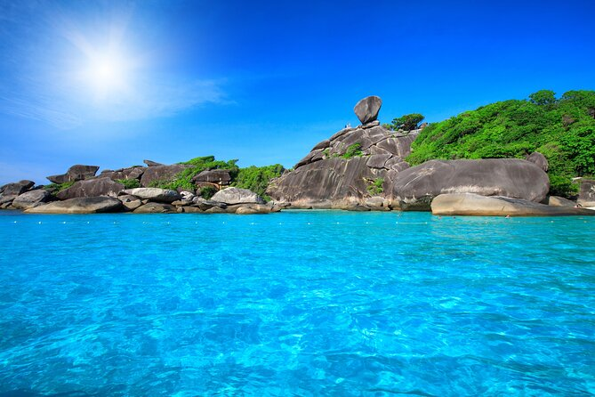Full-day Tour to the Similan Islands by Speedboat from Khao Lak