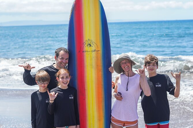 Private Group Surf Lesson in Lahaina
