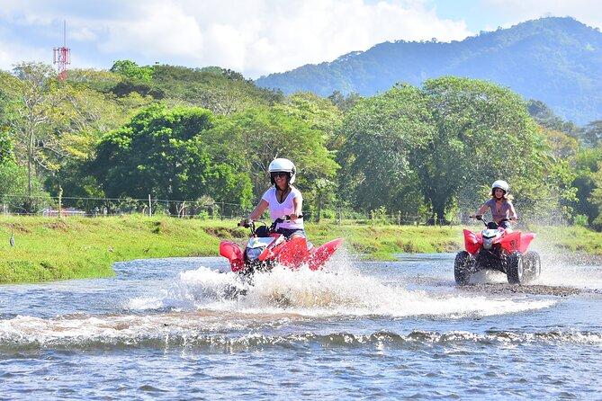 Private ATV Tour from San Jose Enjoy jungle, Beach, River Paths and Ocean Views