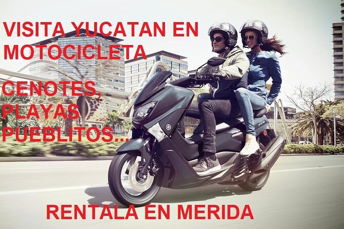 Rent scooter in Mérida to visit Yucatán