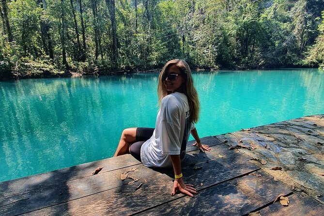 Natural Park Hun-Nal-Ye + Cenote Experience, Private 2-Day Tour from Coban