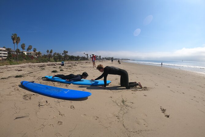 Private Surfing Lessons in Santa Barbara