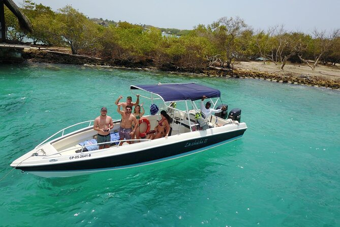 Private Speedboat from Cartagena to Rosario Islands