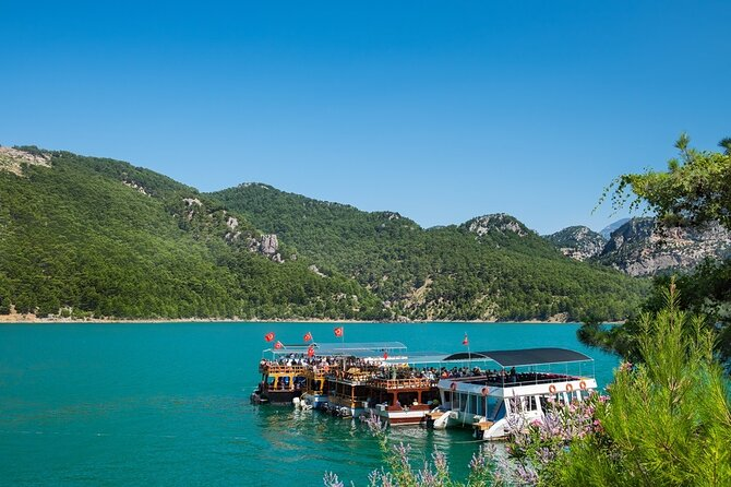 Green Canyon Cruise with lunch and unlimitted drinks from Alanya