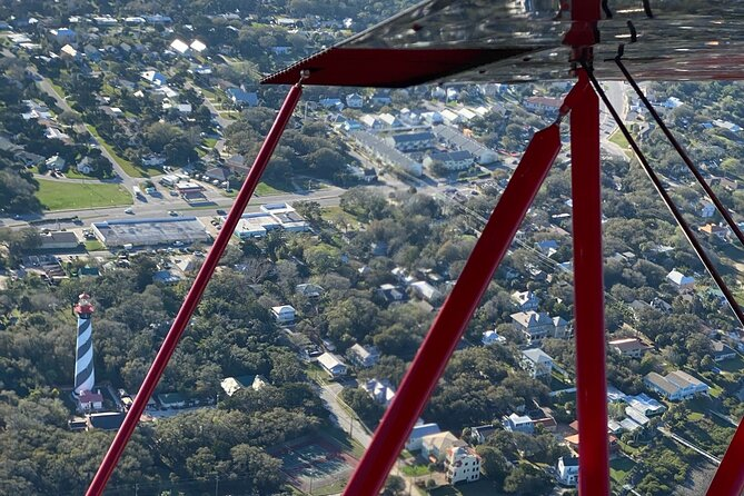 45 Minutes Vintage Biplane Rides in St. Augustine