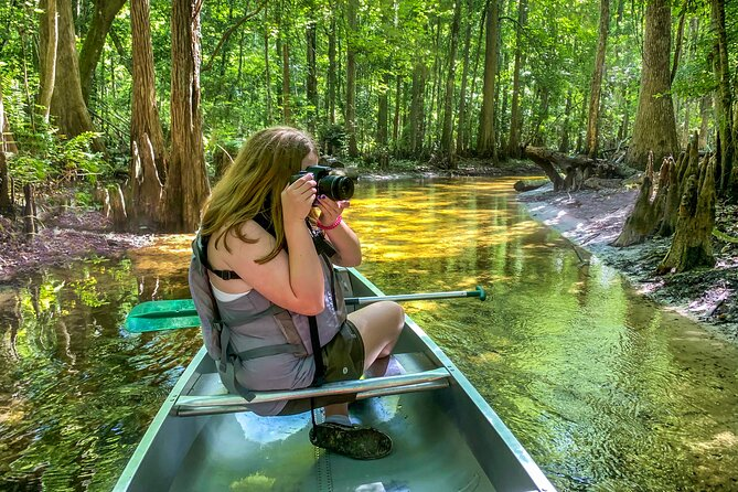 One-on-One Canoeing Nature Photography Workshop in Kissimmee