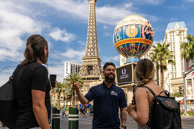 Las Vegas Hop-on Hop-off Guided Walking Tour