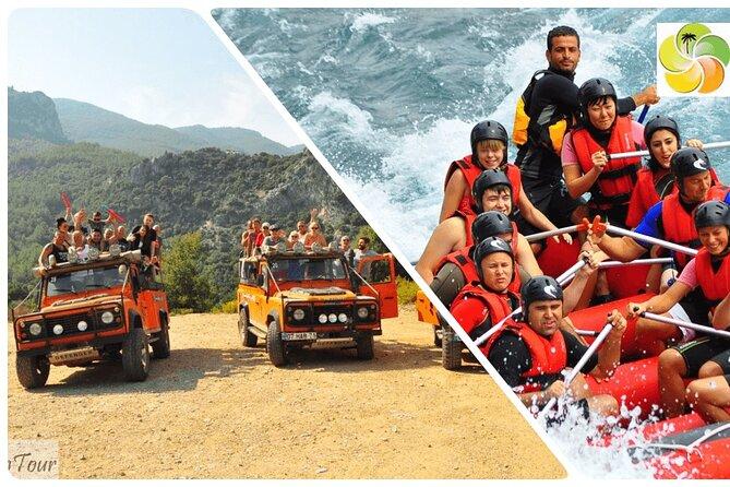 Eagle Canyon Jeep Safari and White Water Rafting (from Belek, Antalya, Side)