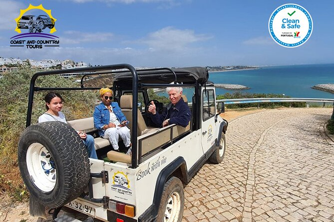 Jeep Tour of the City and Coast of Albufeira