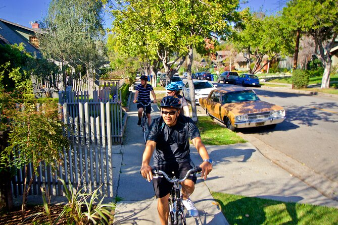 Hollywood Private Bike Tour with Fun Nature Walk in Griffith Park