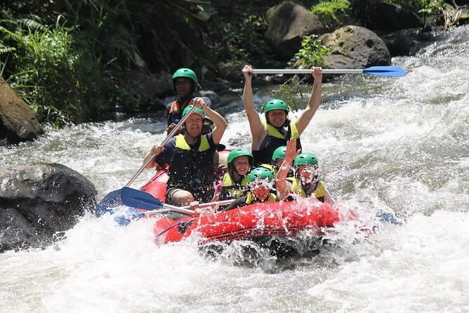 Full-Day Private White Water Rafting Ayung River and Ubud City Tour