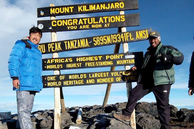 8 Days LEMOSHO route - Kilimanjaro Climbing
