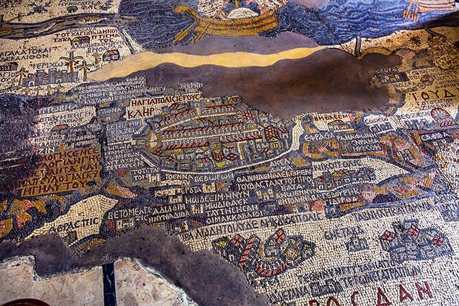 Private Half Day Tour to Madaba and Mount Nebo from Dead Sea