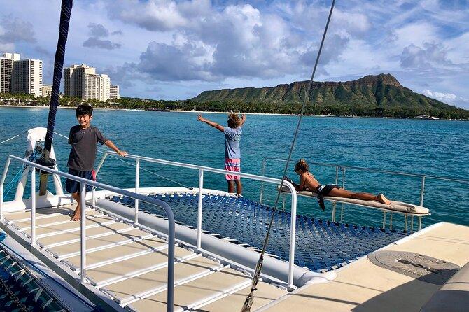 3-Hour Swim'n'Sail Experience in Waikiki