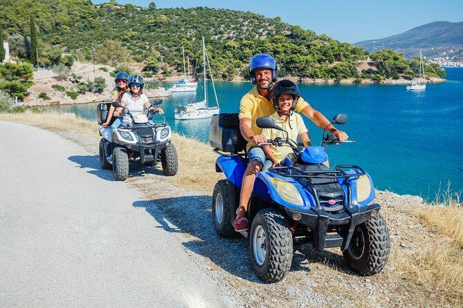Quad tour through Crete from Agia Pelagia through Fodele and Marathos