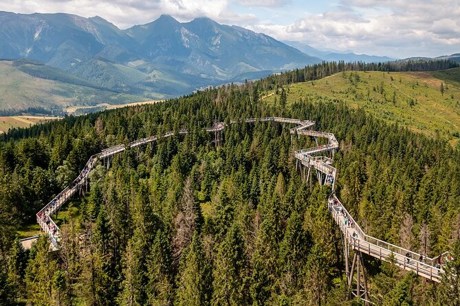 Guided Private Tour to Slovakia Treetop Walk and Thermal Baths