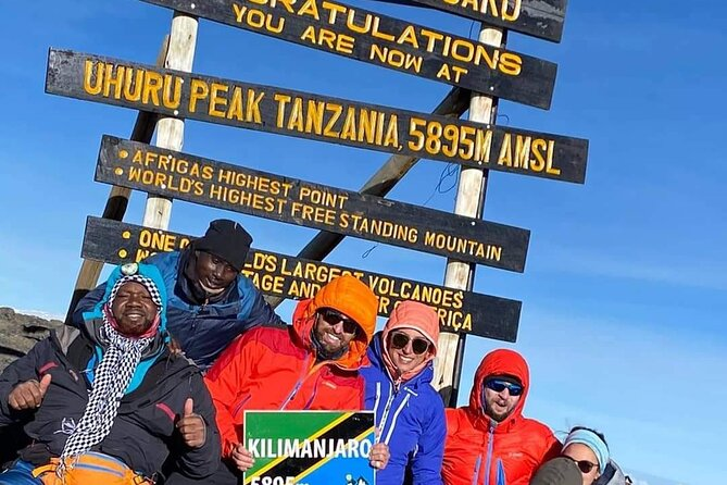 Kilimanjaro-Trekking Lemosho Route 8 days / 7 Nights
