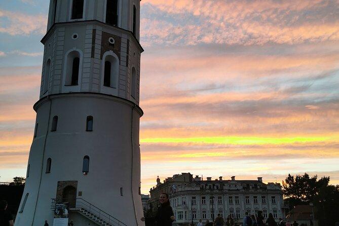 Private Romantic Walking Tour in Vilnius