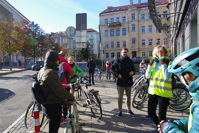 """Small-Group - Bike Tour of Vilnius Highlights """"Iconic Landmarks & Hidden Gems"""""""