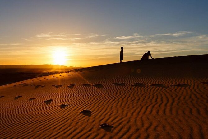 Sunrise Walking Trip In Merzouga Desert With Local Guide
