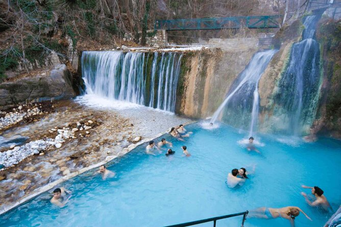 Pozar Thermal Baths - Edessa Waterfalls