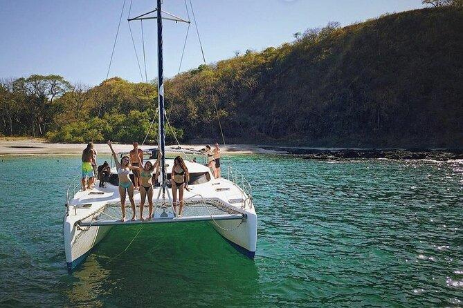 Private Playtide Charters Catamaran Tour from Playa Tamarindo CR