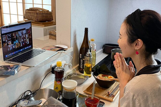 NEW! Online Tsukemen (dipping ramen) class