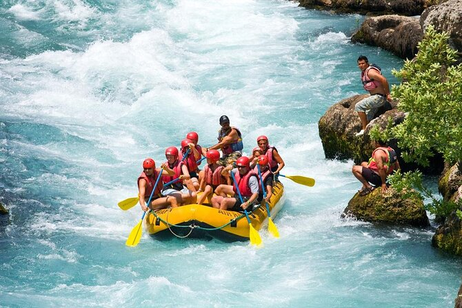 Full-Day Private Dalaman River Rafting with Lunch from Fethiye