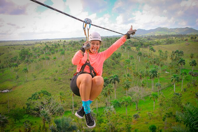 "Punta Cana Zipline Excursion ""8 Unique Carbon Fiber Lines and 1 hanging bridge"""