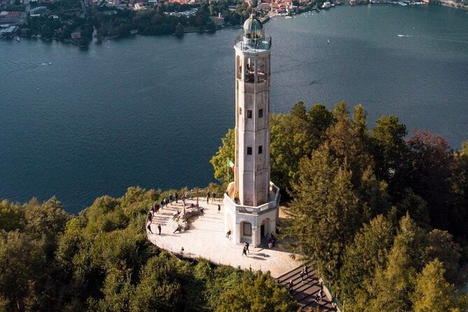 Lake Como Volta Lighthouse and Brunate Jeep Sightseeing Tour